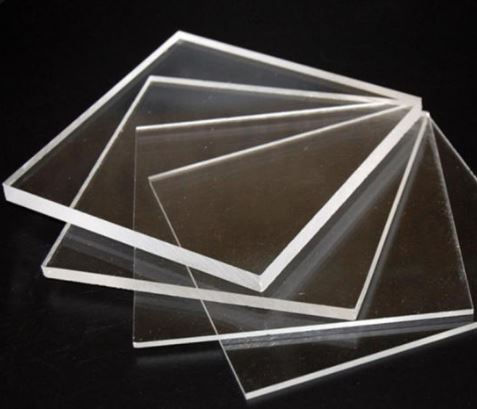 Chapa de acrilico cristal