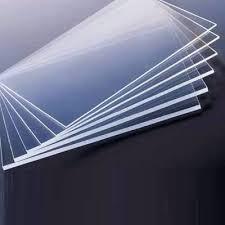 Chapas de poliestireno transparente